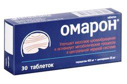 Омарон, 400 мг+25 мг, таблетки, 30 шт.