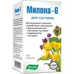 Милона-6 для суставов, 0.5 г, таблетки, 100шт.