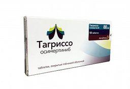 Тагриссо, 80 мг, таблетки, покрытые пленочной оболочкой, 10 шт.