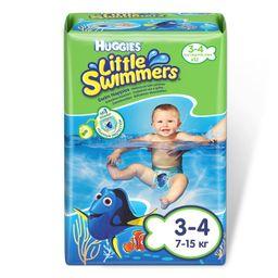 Huggies Подгузники-трусики для плавания, р. 3-4, 7-15 кг, 12шт.