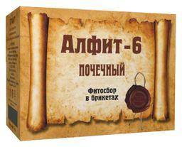 Алфит-6 фитосбор почечный, 2 г, брикеты, утренний, вечерний, 60шт.