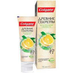 Colgate Паста зубная Древние Секреты Безупречная свежесть, паста, 75 мл, 1шт.