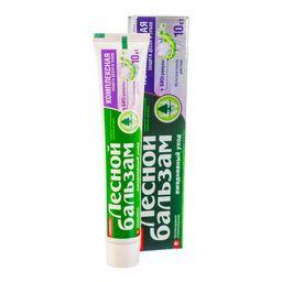 Лесной бальзам Зубная паста Комплексная защита с биогранулами, паста зубная, 75 мл, 1шт.