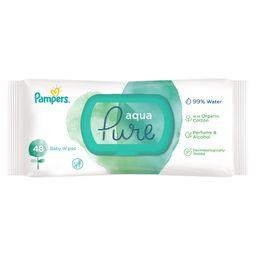 Pampers Aqua Pure Салфетки важные детские