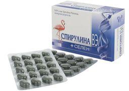 Спирулина ВЭЛ+селен, 0.5 г, таблетки, 120шт.