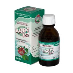 Эдас-137 Вискумел, капли для приема внутрь гомеопатические, 25 мл, 1 шт.