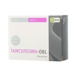 Тамсулозин-OBL, 0.4 мг, капсулы с модифицированным высвобождением, 30 шт.