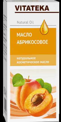 Витатека Масло абрикосовое, масло косметическое, 30 мл, 1шт.