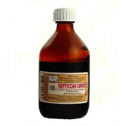 Пертуссин, сироп, 100 г, 1шт.