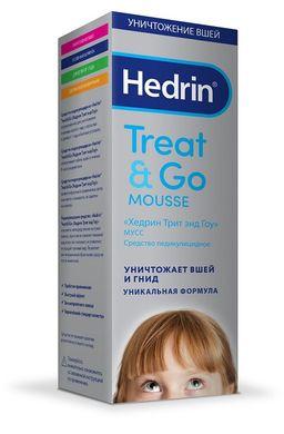 Hedrin Treat&Go средство педикулицидное, мусс, 100 мл, 1шт.