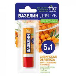 Вазелин для губ Сибирская облепиха Восстановление и питание