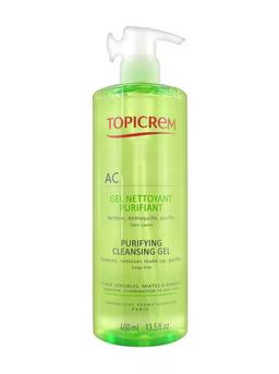 Topicrem AC Гель очищающий оздоравливающий, гель, 400 мл, 1 шт.
