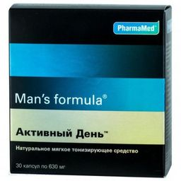 Man's formula Активный день, капсулы, 30 шт.