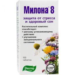 Милона-8 успокаивающая, 0.5 г, таблетки, 100 шт.