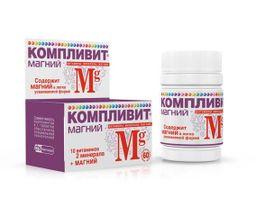Компливит Магний, 735 мг, таблетки, 60 шт.