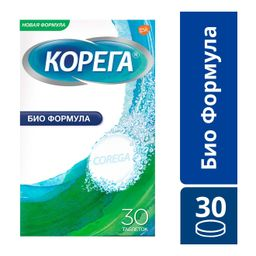 Корега Био Формула для очищения зубных протезов