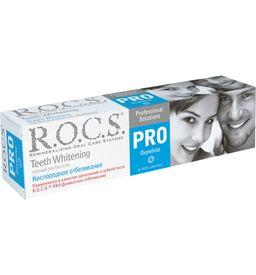ROCS PRO Зубная паста Кислородное отбеливание, без фтора, паста, 60 г, 1 шт.