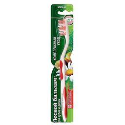 Лесной Бальзам Зубная щетка Комплексный уход, щетка зубная, мягкий (ая), 1шт.