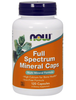 NOW Full Spectrum Mineral Caps, капсулы, 120 шт.