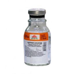 Натрия хлорид, 0.9%, раствор для инфузий, 100 мл, 1 шт.