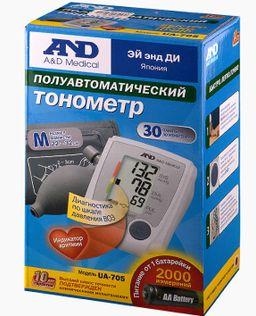 Тонометр полуавтоматический AND UA-705