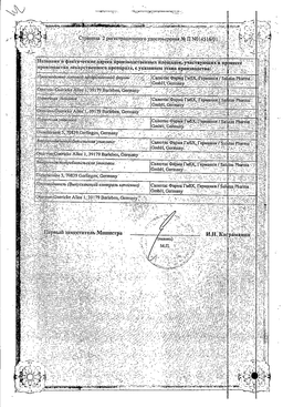 ЛораГексал сертификат