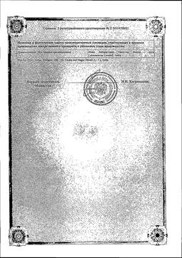 Презартан сертификат