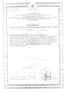 Карнитон сертификат