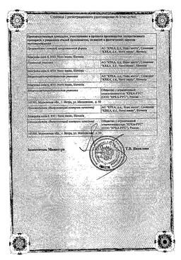 Кеналог 40 сертификат