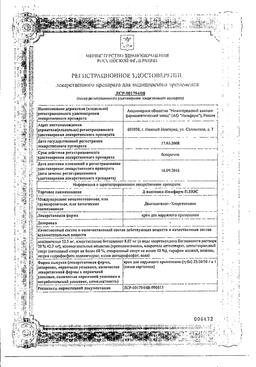 Д-пантенол-Нижфарм Плюс сертификат