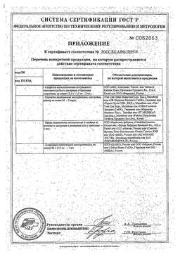 Аптечка первой помощи работникам ФЭСТ сертификат
