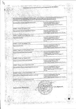 Акорта сертификат