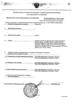Пермиксон сертификат