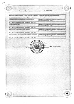 Азикс-Дерм сертификат
