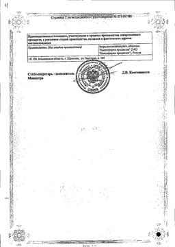 Карведилол Канон сертификат