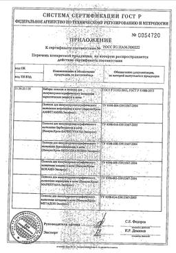Тест на наркотики ИммуноХром-5-Мульти-Экспресс сертификат