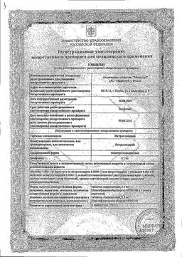 Нитроглицерин сертификат