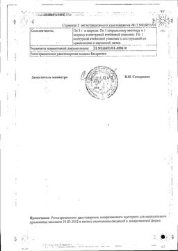 Препидил сертификат