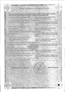 Ипратерол-аэронатив сертификат