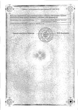 Амоксициллин сертификат