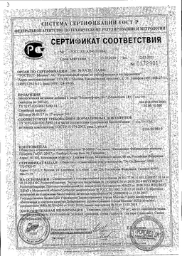 Модельформ 18+ сертификат