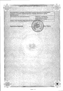 Ангидак сертификат