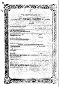 Кетоконазол сертификат