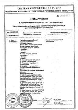 Презервативы Durex Intense orgasmic сертификат
