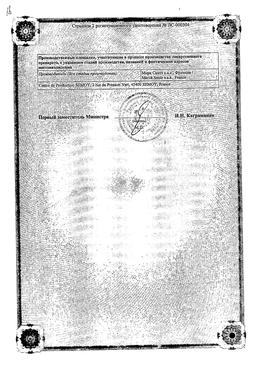 Глюкованс сертификат