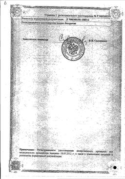 Салициловая кислота сертификат
