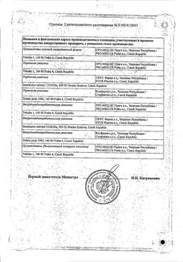 Индап сертификат