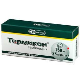 Термикон, 250 мг, таблетки, 28 шт.