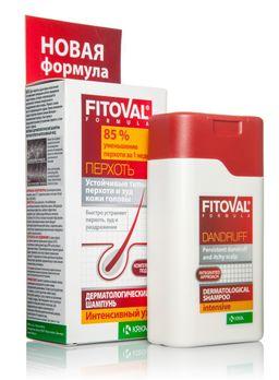 Фитовал дерматологический шампунь против перхоти интенсивный уход, шампунь, 100 мл, 1 шт.