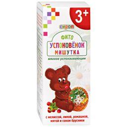 Фитоуспоковенок Мишутка, сироп, 100 мл, 1шт.
